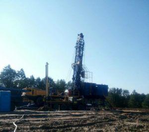промышленная скважина в Калининградской области